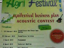 Misekta Unhas Gelar AGRI FESTIVAL 2015