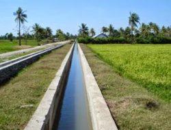 90.100 hektare Irigasi dibenahi Dinas Pertanian Sumut