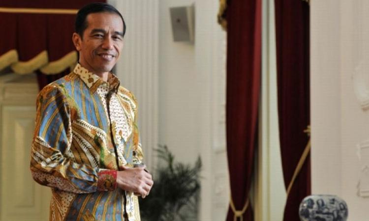 Presiden Joko Widodo Di Istana Negara