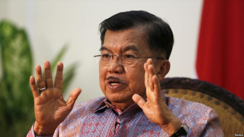 Wakil Presiden Jusuf Kalla  (Foto: Dok VOA)