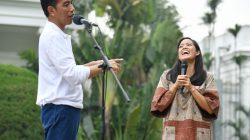 Jokowi senang ketika ada pemudi yang tertarik ingin bertani
