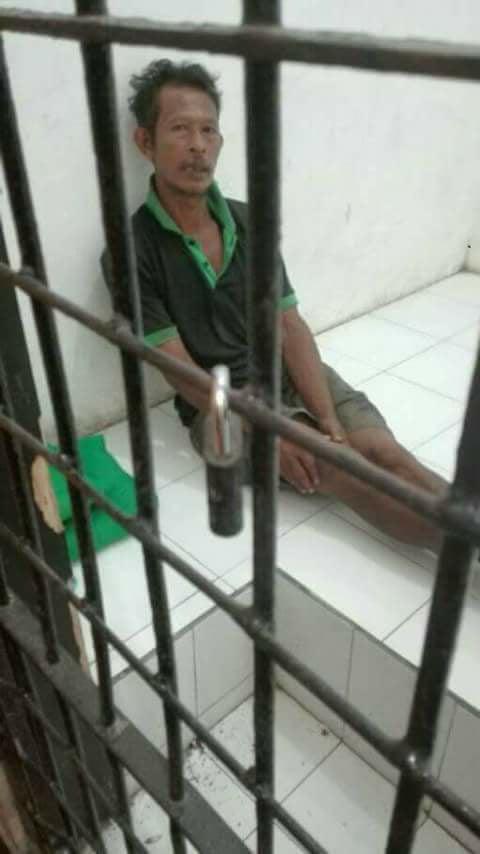 Foto Pak Poniran Yang diunggah oleh halaman facebook Selamat Pagi Indonesia