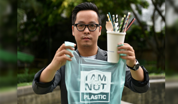 inovasi bioplastik oleh Kevin Kumala