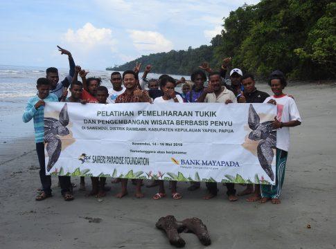 Pemateri berfoto bersama peserta (Foto: SPF)