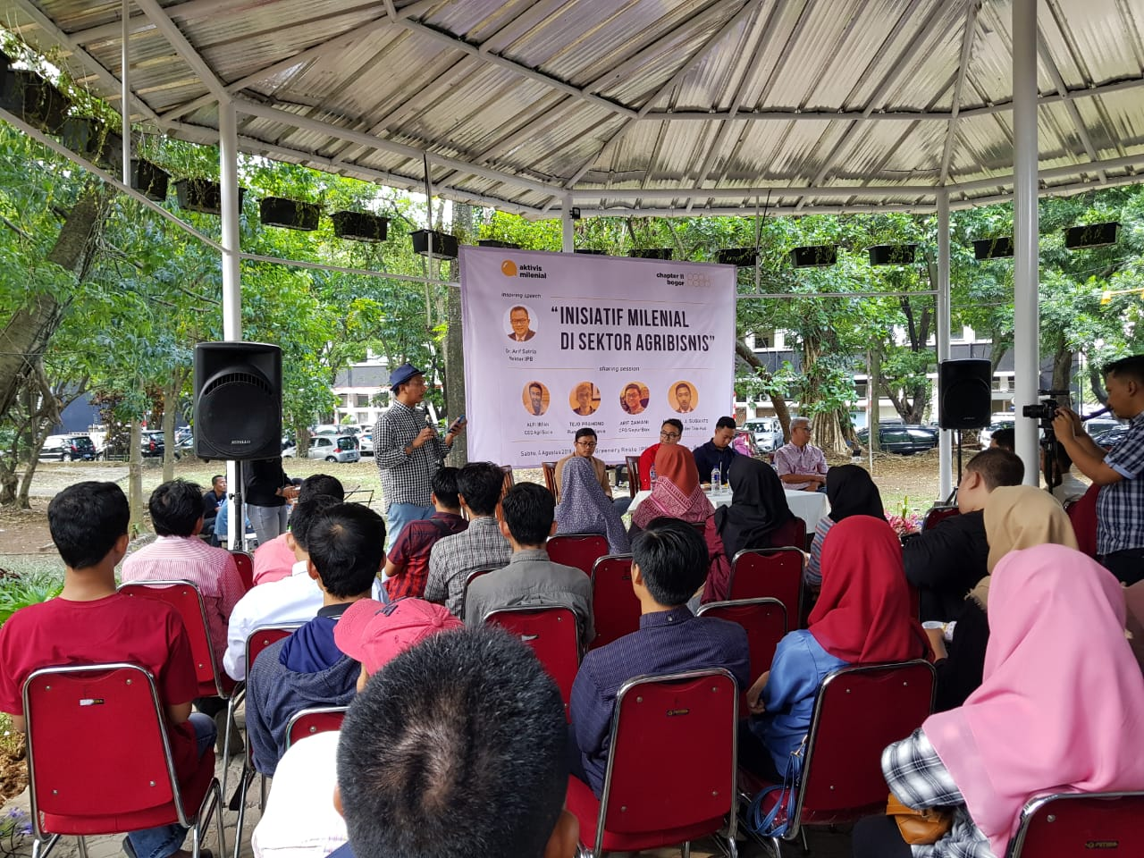 Penyelenggara kegiatan Aktivis Milenial, Muhammad Arief Rosyid Hasan