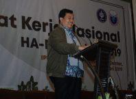 Bambang Supriyanto Ketua HAE IPB (foto: panitia Rakernas HAE IPB)