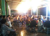 Suasana diskusi Colloquy (foto: mediatani.co)