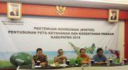 Rakor DKP ini dihadiri Bupati/Walikota Seprovinsi Jambi, Kepala Dinas Ketahanan Pangan, Pokja Ahli DKP dan undangan lainnya.