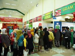suasana di TTIC, Pasar Minggu, Jakarta, 31/5/2019
