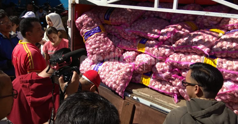 Operasi pasar oleh Dirjen Hortikultura, Kementerian Pertanian (2/5/2019)