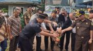 Pelepasan ekspor dilakukan Kepada Badan Karantina Pertanian, Ali Jamil, mewakili Menteri Pertanian Andi Amran Sulaiman.
