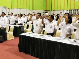 Peserta pelatihan petugas Penilai Usaha Perkebunan (PUP), 21 - 27 April 2019 di LPP Jogjakarta (Foto: Dokumen Kementan)