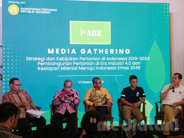 Pembicara media gathering IFADS 2019