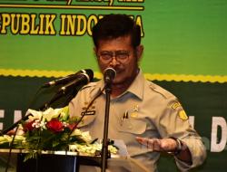 Gelar Rakernas, Syahrul Yasin Limpo Beberkan Strategi Majukan Sektor Pertanian