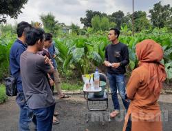 Kader HMI Cabang Bogor Manfaatkan Puntung Rokok Jadi Pestisida
