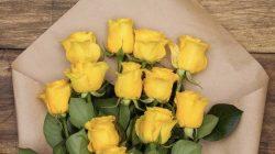 Mawar kuning (pinterest)