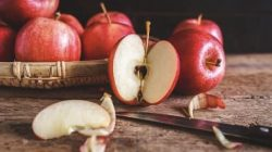Apel merah (pinterest)