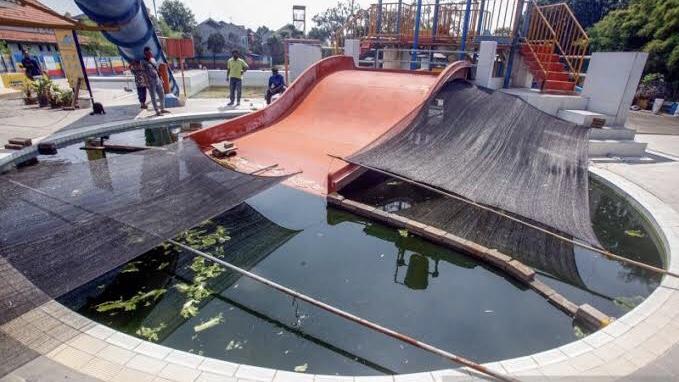 Fun Park Villa di Gunung Putri, Bogor.