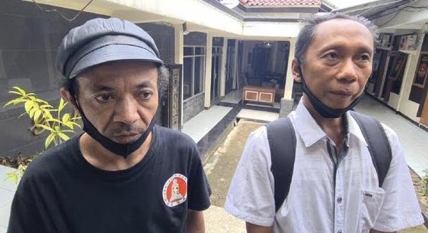 Petani dari kampung Nagrak dipolisikan PTPN VIII (Detik)