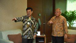 Pertemuan Mentan dan MenPUPR di kantor Kementerian PUPR