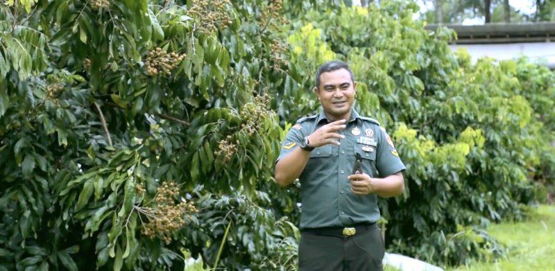 Serda Mugiyanto di Kebun Buah Borobudur (Youtube Kementan).