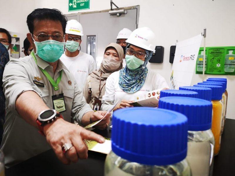 Mentan, Syahrul Yasin Limpo Lepas  Produk Turunan Jagung dan Gandum di Cilegon