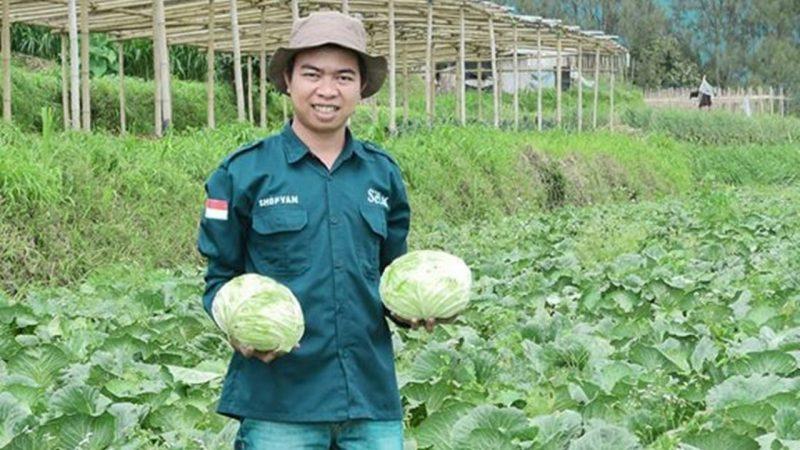 Sofyan Adi Cahyono, Founder Sayur Organik Merbabu
