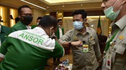 GP Ansor melakukan pertemuan dengan Menteri Pertanian,Syahrul Yasin Limpo (Mentan SYL) di Kantor Pusat Kementan, Jakarta, Senin (24/08/20).