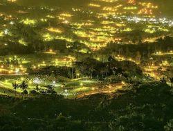 Lampu Pengusir Hama Jadi Pesona Wisata Baru di Enrekang