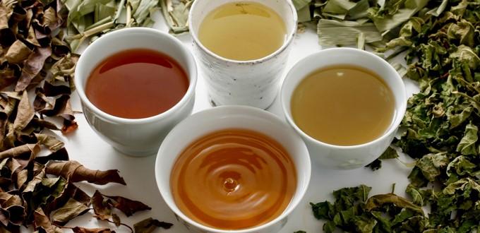Berbagai jenis teh