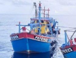 Lagi, Kapal Malaysia Kedapatan Mengangkut 16 Ton Ikan di Laut Indonesia