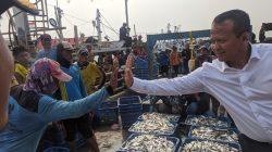 Menteri KKP Edhy Prabowo di Pelabuhan Perikanan Muara Angke, Penjaringan, Jakarta Utara