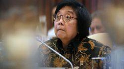 Menteri Lingkungan Hidup dan Kehutanan Siti Nurbaya Bakar.