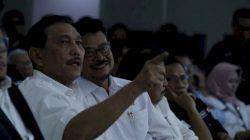 Mentan Syahrul Yasin Limpo dan Menko Marves Luhut Binsar Pandjaitan