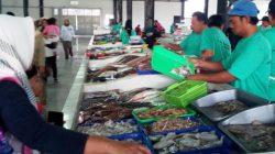 Aktifitas di Pasar Ikan Modern Soreang, Bandung