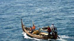 Ilustrasi: Nelayan sedang melaut untuk mencari ikan
