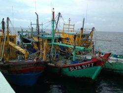Tiga Kapal Ikan Asing yang ditangkap Bakamla, diproses KKP