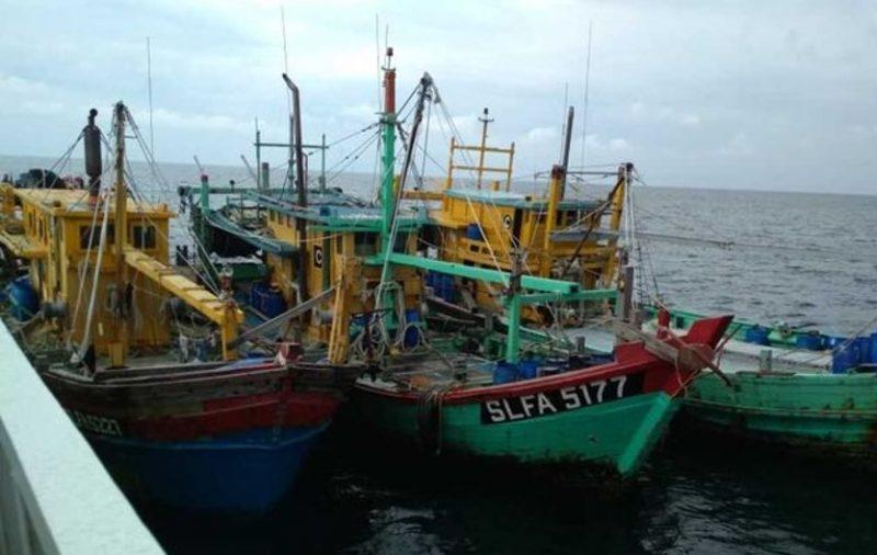 Kapal Ikan Asing yang ditangkap Bakamla