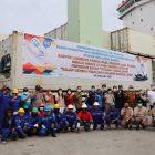 Pelepasan ekspor Gurita dari Luwuk Banggai ke Meksiko.
