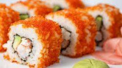 Telur ikan capelin (Masago)
