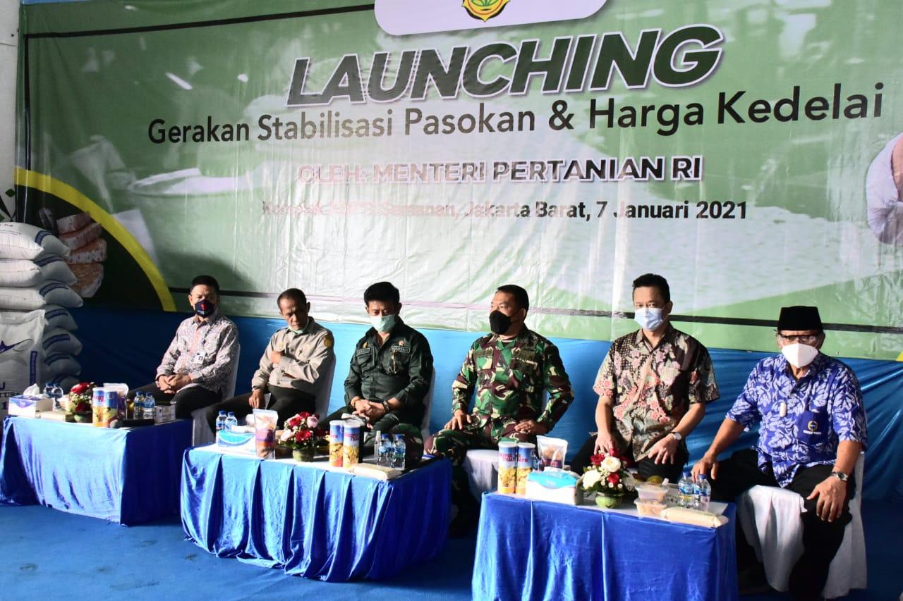 launching gerakan stabilisasi pasokan dan harga kedelai