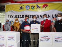 Fakultas Peternakan Unhas-PT.Charoen Pokphan Donasikan 1 Ton Bakso untuk Korban Gempa