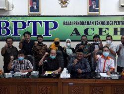 Bupati Aceh Tamiang Ajak Maporina dan BPTP Gencarkan Pertanian Organik