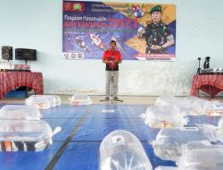 Ratusan Ikan Koi Perebutkan Piala Pangdam XIV Hasanuddin dan Hadiah Rp 30 Juta