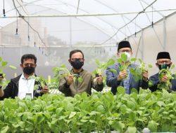 Kunjungi Ponpes Al-Ghazaly, Mentan SYL: Kerja Pertanian adalah Tindakan Mulia