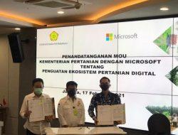 Tingkatkan Infrastruktur Pertanian, Microsoft Indonesia Hadirkan Layanan Database