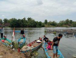Bengawan Mati Dimanfaatkan Jadi Tempat Budidaya Ikan Sistem Keramba
