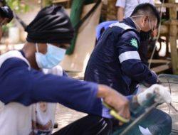 PT Timah Berdayakan Nelayan Semujur Indah Membuat Rumpon untuk Tingkatkan Hasil Tangkapan