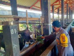 Inovasi Biogas Polsek Lingsar Dukung Program Kampung Sehat di NTB