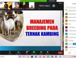 Fapet Unhas Bahas Manajemen Breeding Kambing, Dekan: Peternakan Kambing Cepat Pulihkan Eknomi
